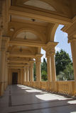Villa colonade Stock Photo