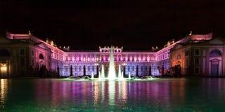 Villa colorée Reale Photos libres de droits