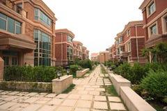 Villa compound Stock Image