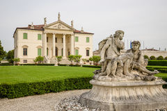 Villa Cordellina Lombardi, built in 18th century. Villa Cordellina Lombardi, built in 18th century on a design by architect Giorgio Massari royalty free stock photography