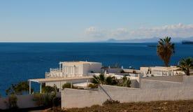 Villa d'été images libres de droits