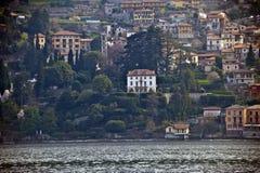 Villa d'achats de Berlusconi sur le lac Como Image stock