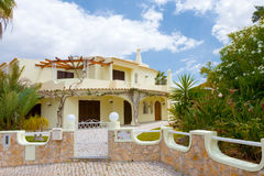 Villa d'Algarve Photos stock
