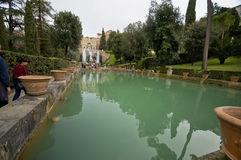 Villa d'Este Stock Fotografie