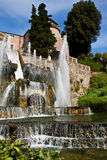 Villa d'Este - Tivoli Royalty Free Stock Images