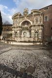 Villa D Este, Tivoli för organspringbrunn (den Fontana dellen Organo) italy Royaltyfria Bilder