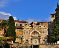 Villa d'Este, Tivoli, Italië Royalty-vrije Stock Fotografie