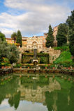 Villa d'Este, Tivoli, Italië Stock Afbeeldingen