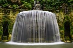 Villa D este in tivoli, Italië, Europa royalty-vrije stock foto