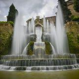 Villa D este in tivoli, Italië, Europa royalty-vrije stock fotografie