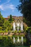 Villa d'Este, Tivoli, Italy Royalty Free Stock Photography