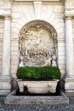 Villa d'Este in Tivoli, Italy, Europe Royalty Free Stock Photo