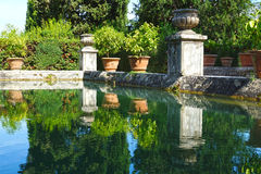 Villa d'Este in Tivoli, Italy, Europe Royalty Free Stock Photos