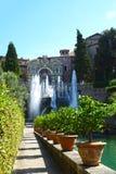 Villa d'Este in Tivoli, Italy, Europe Stock Photography