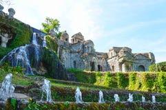 Villa d'Este in Tivoli, Italy, Europe Stock Photos