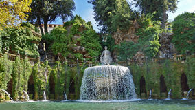 Villa d'Este in Tivoli, Italy, Europe Royalty Free Stock Images