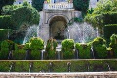Villa d'Este, Tivoli, Italy Stock Photos