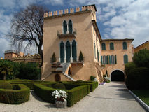 Villa dans Bardolino, Italie Photographie stock