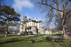 Villa David-Davis stockbild