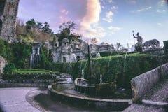 Villa de este italy royalty free stock image