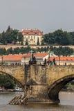 Villa de Karel Kramar, résidence contemporaine du Priim tchèque Photo stock