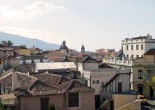 Villa de la Orotav stockbild