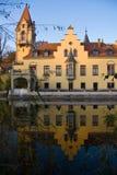 villa de lac de l'Allemagne de constance Photos stock