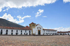 Villa de Leyva, Boyaca, Colombie Photo stock