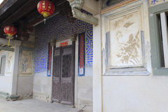 Villa de Liantang (liantangbieshu) Photographie stock libre de droits