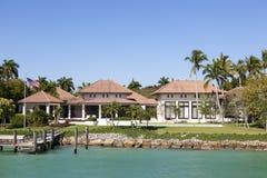 Villa de luxe à Naples, la Floride photo stock
