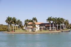 Villa de luxe à Naples, la Floride photo libre de droits