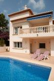 Villa de luxe en Espagne Photos libres de droits