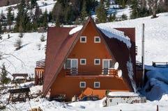 Villa de montagne Photographie stock