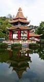 Villa de pair de baie d'aubépine de pagoda Images stock