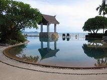 Villa de piscine Image stock