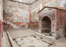 Villa de Pompeii Photos stock