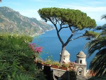 Villa de Ravello Images stock