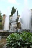 Villa de Tivoli de ` cardinal Este, Italie d'Ippolito d Photo stock