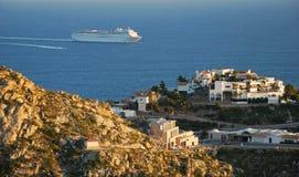 villa de vue de cliffside images libres de droits