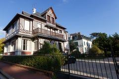 Villa a Deauville Fotografia Stock