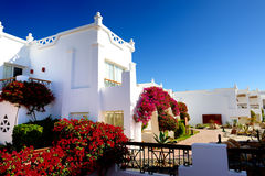 Villa decoration at the luxury hotel. Sharm el Sheikh, Egypt Royalty Free Stock Photo