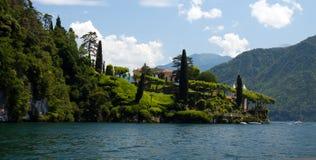 Villa del Balbianello Fotografia Stock Libera da Diritti