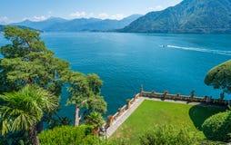 Villa del Balbianello, famous villa in the comune of Lenno, overlooking Lake Como. Lombardy, Italy. stock photo