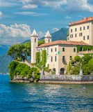 Villa del Balbianello, famous villa in the comune of Lenno, overlooking Lake Como. Lombardy, Italy. stock images