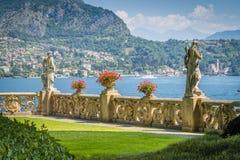Villa del Balbianello, famous villa in the comune of Lenno, overlooking Lake Como. Lombardy, Italy. The Villa del Balbianello is a villa in the comune of Lenno royalty free stock image