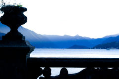 Villa del Balbianello. Lake Como. Stock Photo