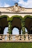 The Villa del Balbianello, lake como, Italy royalty free stock photography