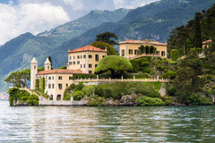 Villa del Balbianello at Lake Como Stock Photography