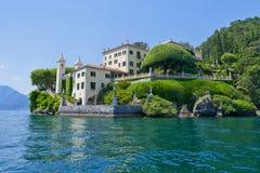 Villa del Balbianello on Lake Como, Lenno, Lombardia, Italy. Romantic wedding place on Como Lake - famous Villa del Balbianello, Lenno, Lombardia, Italy stock image