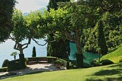 Villa del Balbianello in northern Italy. Villa del Balbianello is a building located in Lenno , in the province of Como . The villa is located at the tip of the stock photos